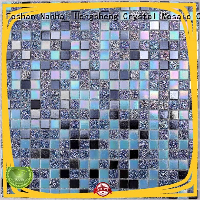 Heng Xing ceramic grey pool tiles wholesale for fountain