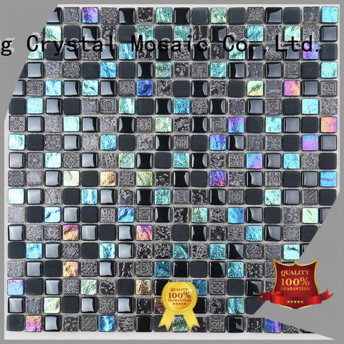 Heng Xing Top lyrette artistic glass mosaic for business for living room
