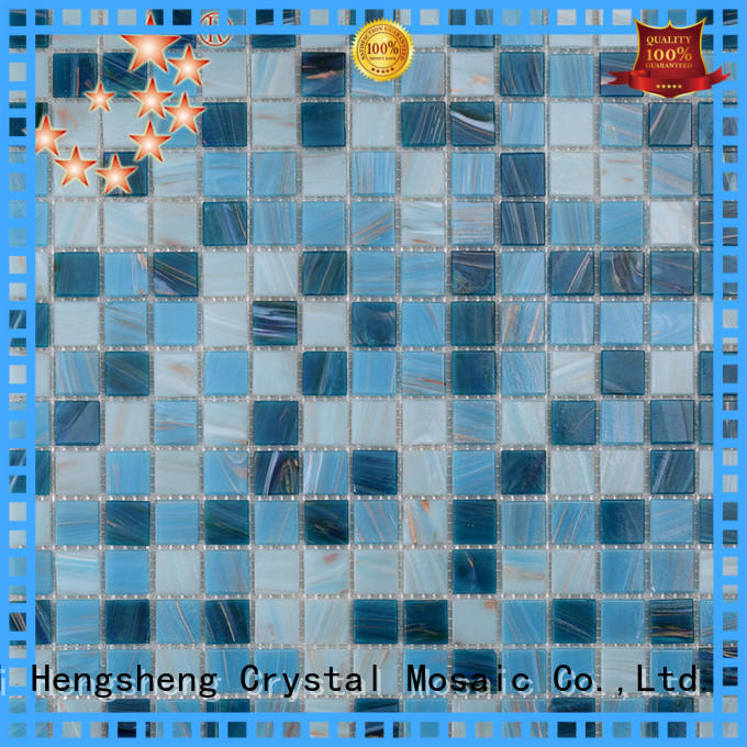 Heng Xing High-quality pool glass tile wholesale for bathroom