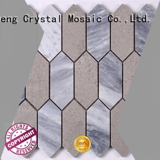 Heng Xing stone glass mosaic new designs directly sale for kitchen