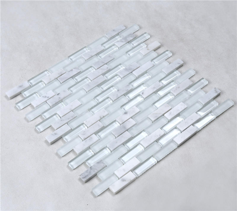 Heng Xing iridescent bevel tile factory price for bathroom-1