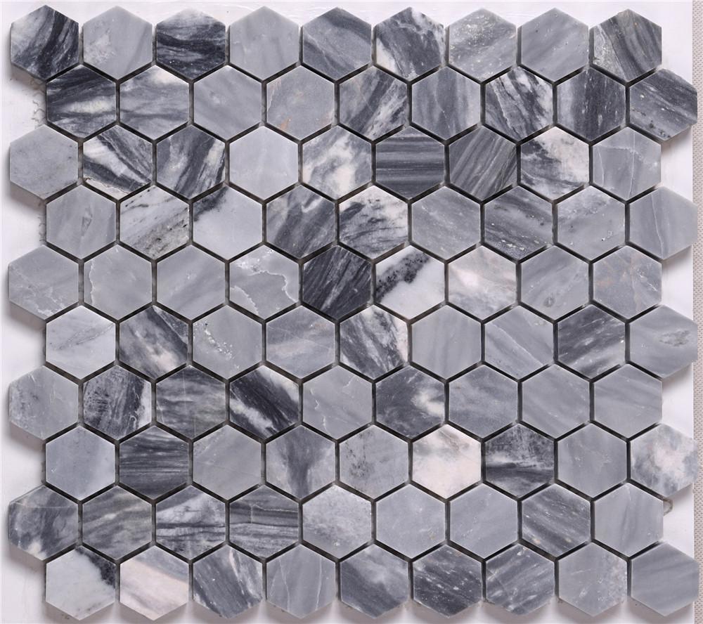 New carrara mosaic tile lantern factory for backsplash-1