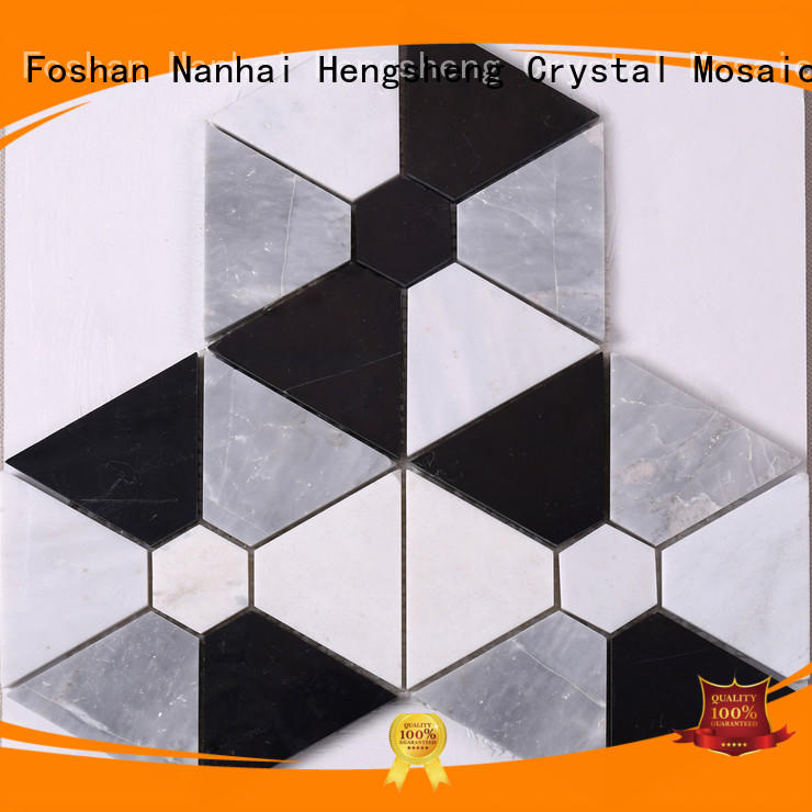 Heng Xing tile glass mosaic tiles for wall manufacturers for villa