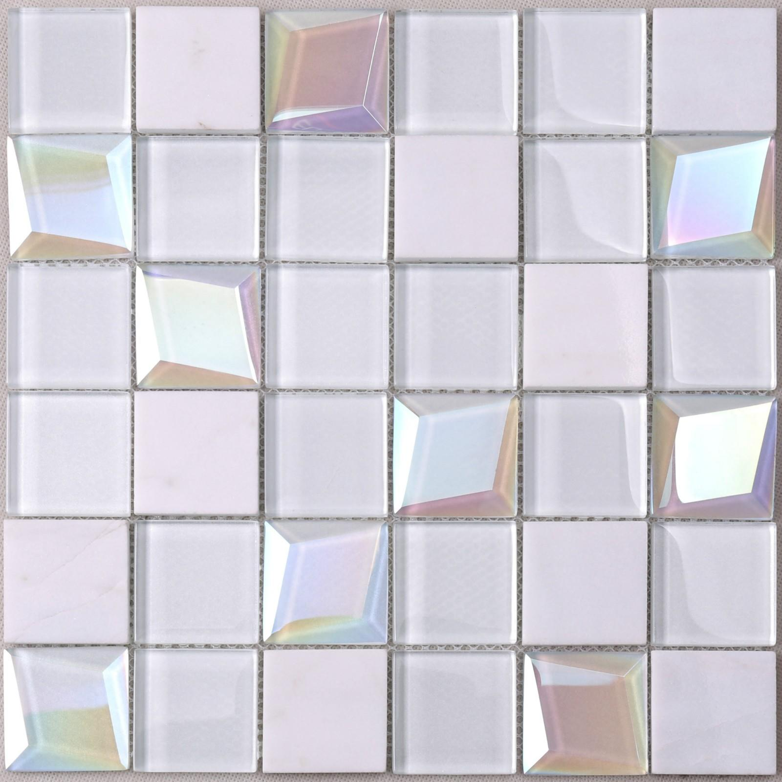 beveled mosaic glass blast company for kitchen-1