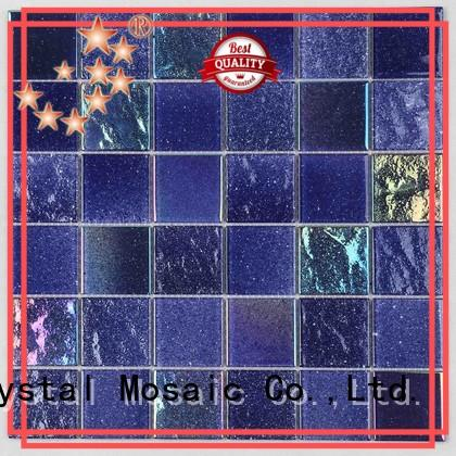 Custom square mosaic tiles waterline company for spa