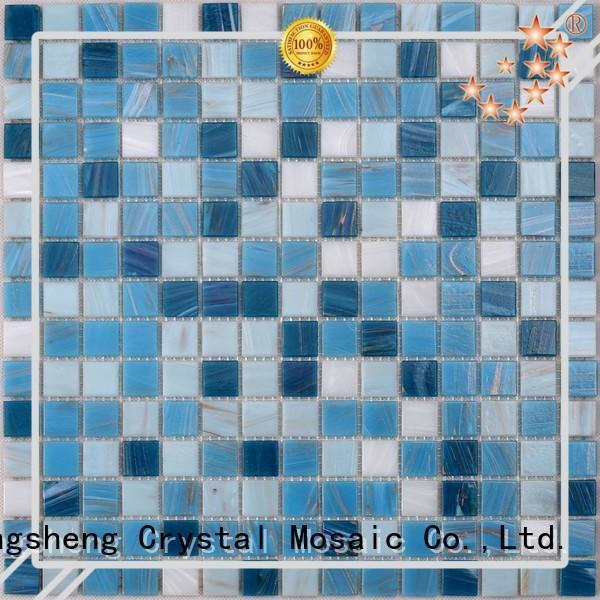 Custom pool tiles blue for business for spa