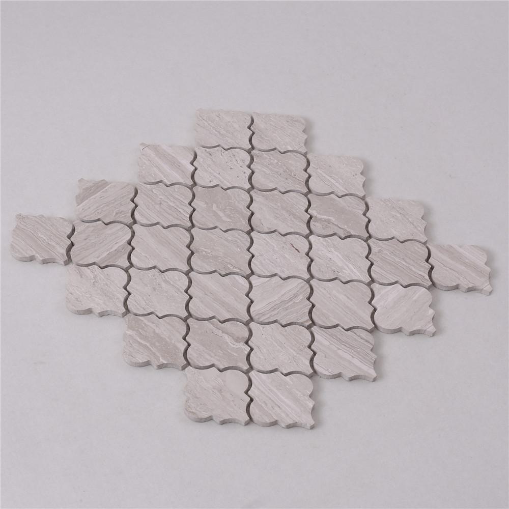 Heng Xing Carrara gray mosaic tile backsplash with good price for bathroom-2