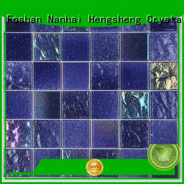 Heng Xing 2x2 moonlight glass wholesale for bathroom