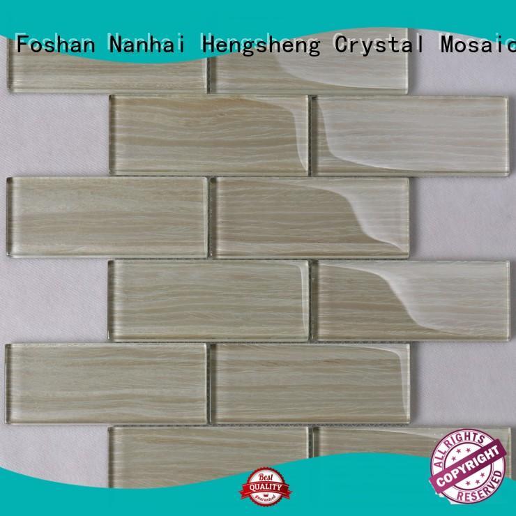 Green Glass Tile Glass Tile Kitchen Backsplash Heng Xing