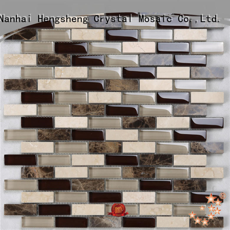 Heng Xing printing herringbone tile supplier for hotel