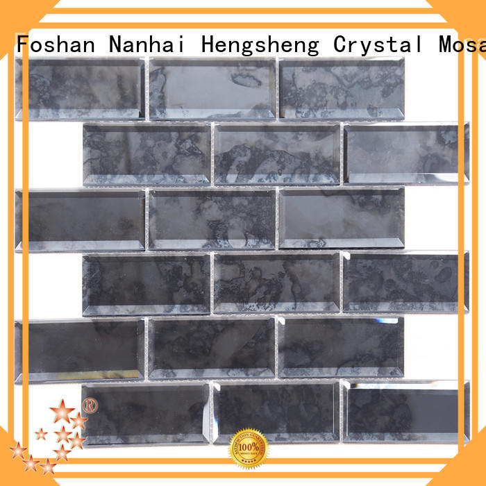 Heng Xing 3x3 stainless steel subway backsplash Suppliers for villa