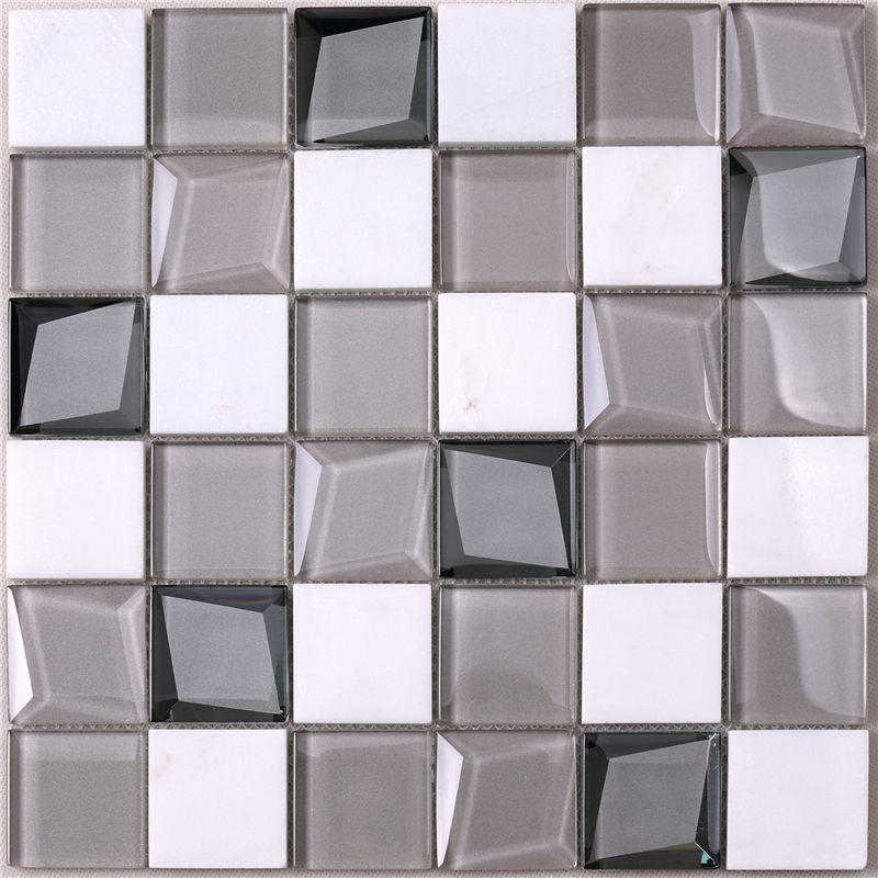 Heng Xing hdt04 slate mosaic tile factory for bathroom-2