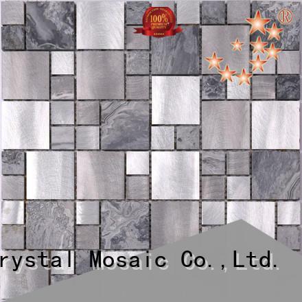 Heng Xing aluminum metal wall tiles manufacturer for bathroom