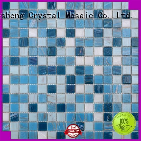 Heng Xing luxury blue pool tile personalized for bathroom