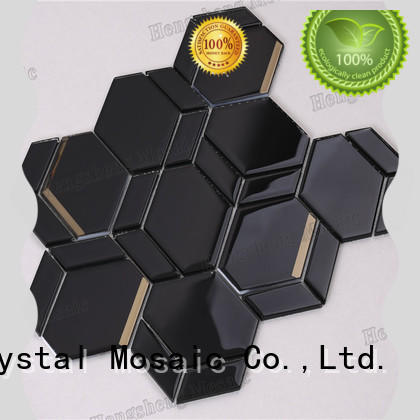 Heng Xing Best pure glass tile factory