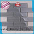 Heng Xing 3x4 marble glass mosaic tile manufacturers for kitchen