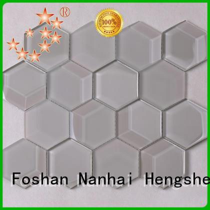 Heng Xing Best iridescent floor tile supplier for kitchen