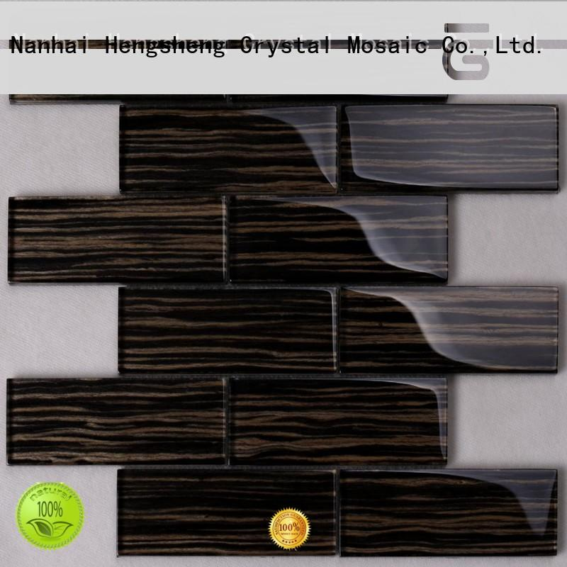 3x3 glass wall tiles for kitchen factory price for villa