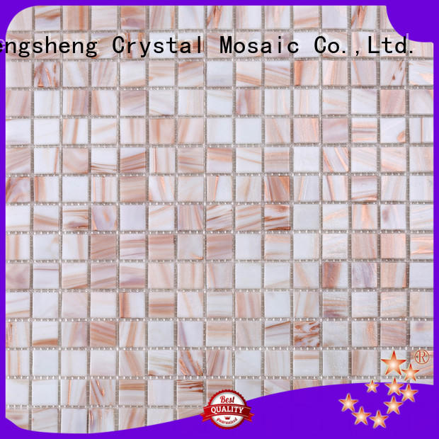Heng Xing hand linear mosaic tile manufacturers for bathroom