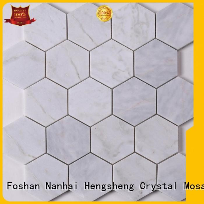 Heng Xing grey marble mosaic inquire now for bathroom