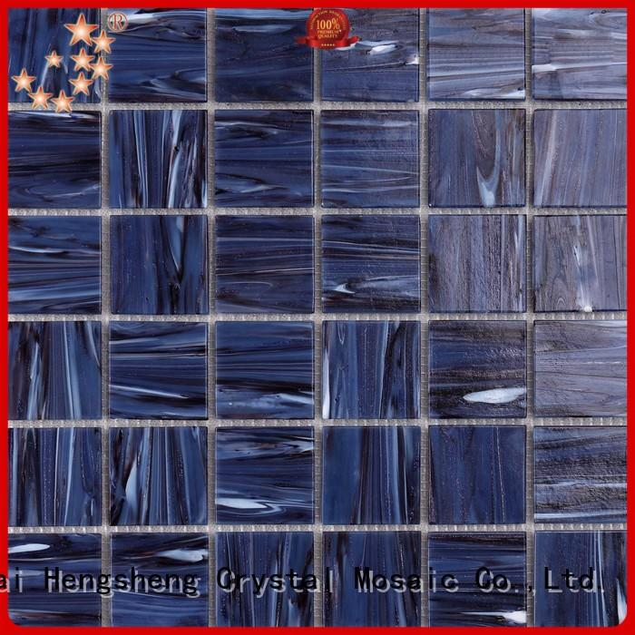 luxury slate mosaic tile floor factory for bathroom