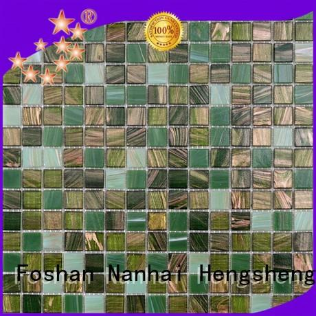 Latest tiles glass mosaic waterline supplier for bathroom