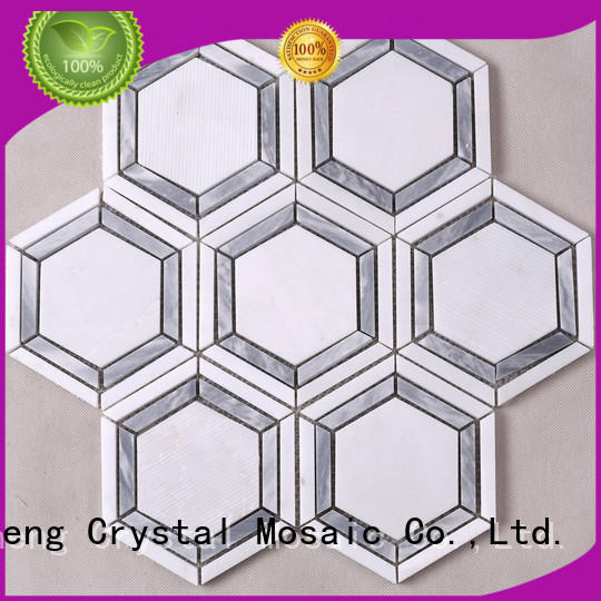 Heng Xing grey marble mosaic tile inquire now for kitchen