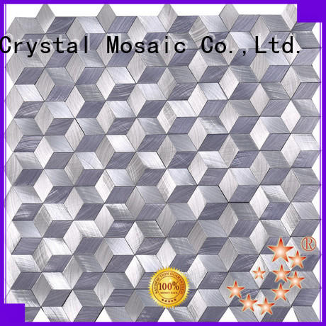 Carrara glass mosaic directly sale for bathroom Heng Xing