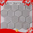 Heng Xing beveled herringbone tile backsplash trapezoid for living room