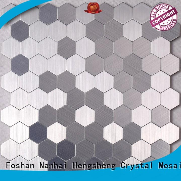 Heng Xing beveled decorative mosaic tiles Supply for living room