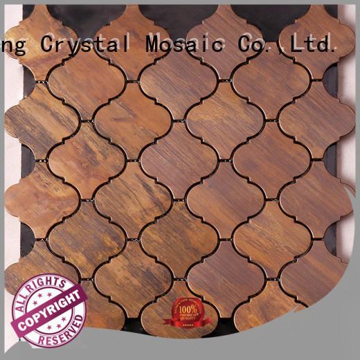 Heng Xing flower glass mosaic customized for backsplash