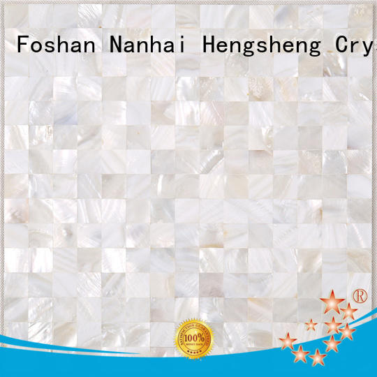 Heng Xing Best pearl shell mosaic tile factory