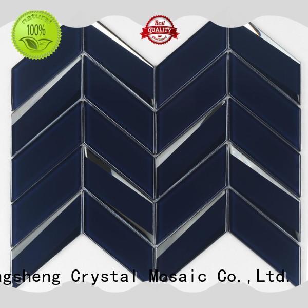 Heng Xing 3x4 glass brick tiles manufacturers for bathroom