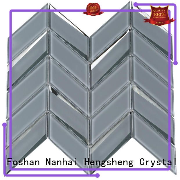 3x3 glass metal tile stone personalized for villa