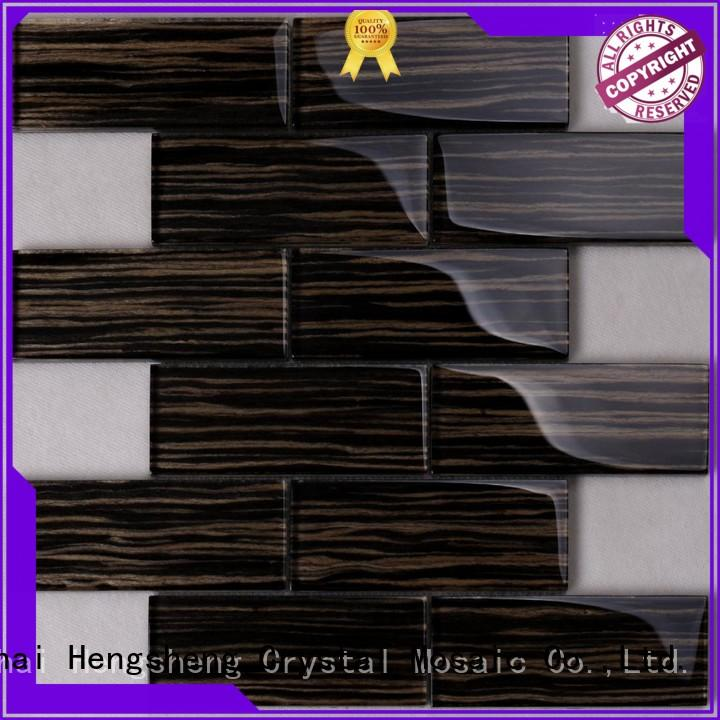 Heng Xing hdt04 slate mosaic tile Suppliers for kitchen