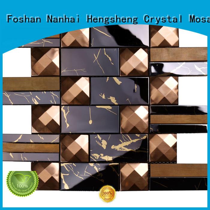 Top mosaic tiles online brown series for bathroom