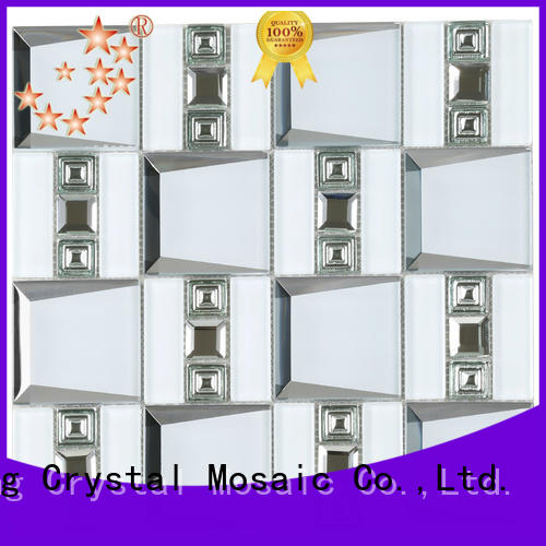 Heng Xing Top large glass mosaic tiles Suppliers for villa