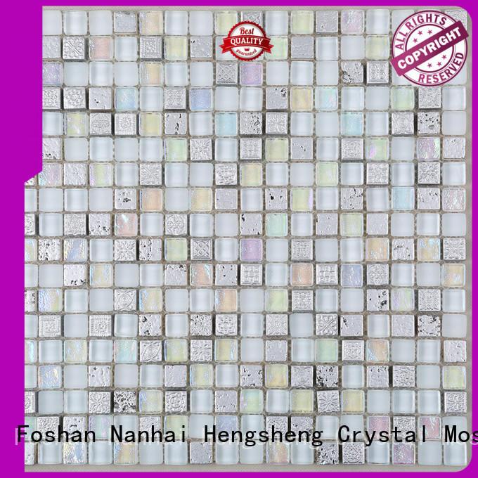 Heng Xing decoration porcelain mosaic tile Suppliers for villa