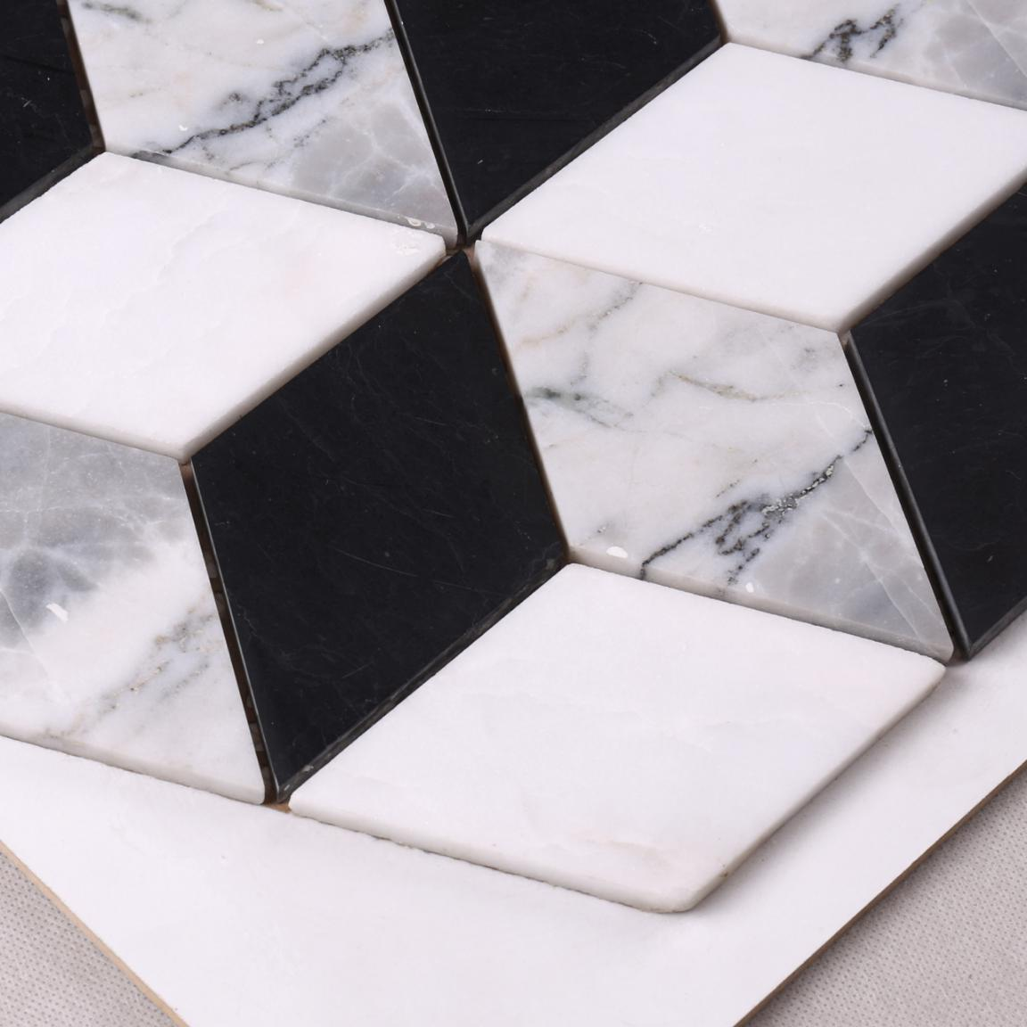 Heng Xing mosaic carrara herringbone company for backsplash-3