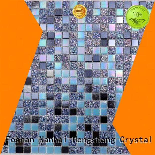 luxury mosaic tile company blue manufacturers for swimming pool