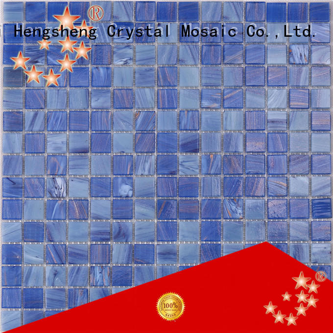 Heng Xing Wholesale american glass mosaics Suppliers for bathroom