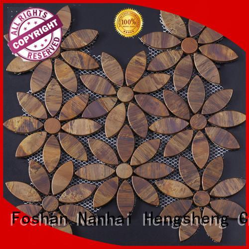Heng Xing indoor metal wall tiles manufacturer for villa