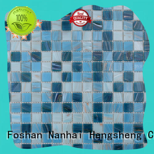 surround beige mosaic tiles hand manufacturers for fountain