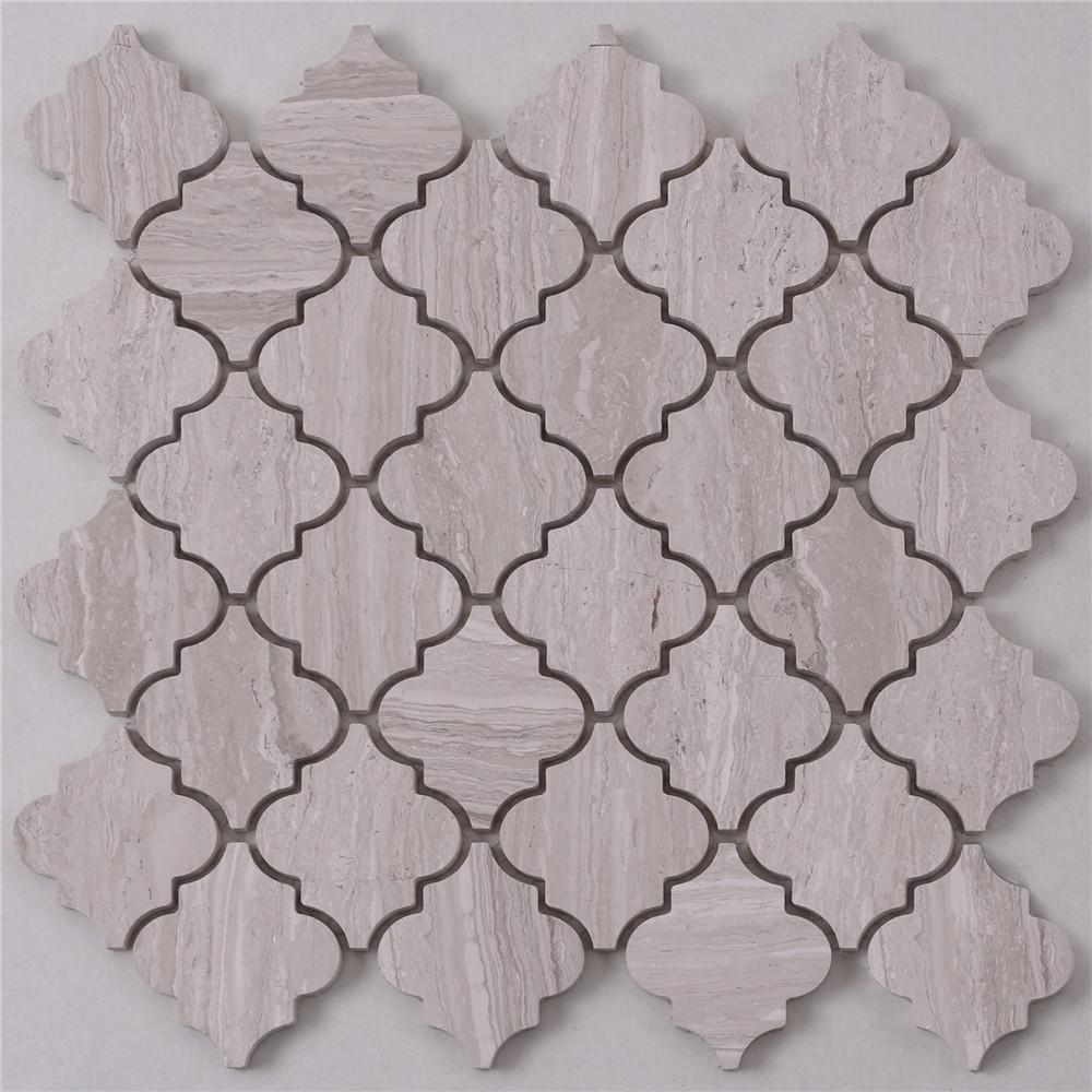 Heng Xing Carrara gray mosaic tile backsplash with good price for bathroom-1