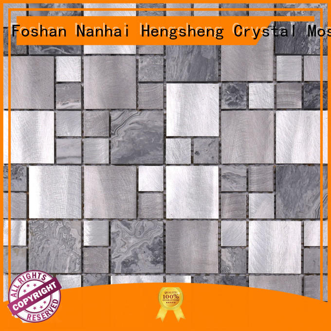 Heng Xing stable linear mosaic tile Supply for hotel