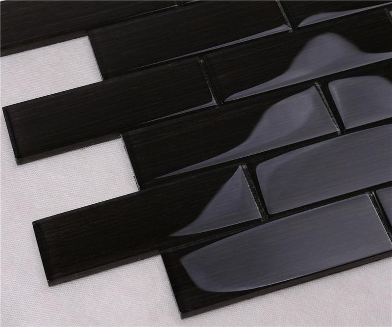 Heng Xing square blue glass tile backsplash factory for hotel-3