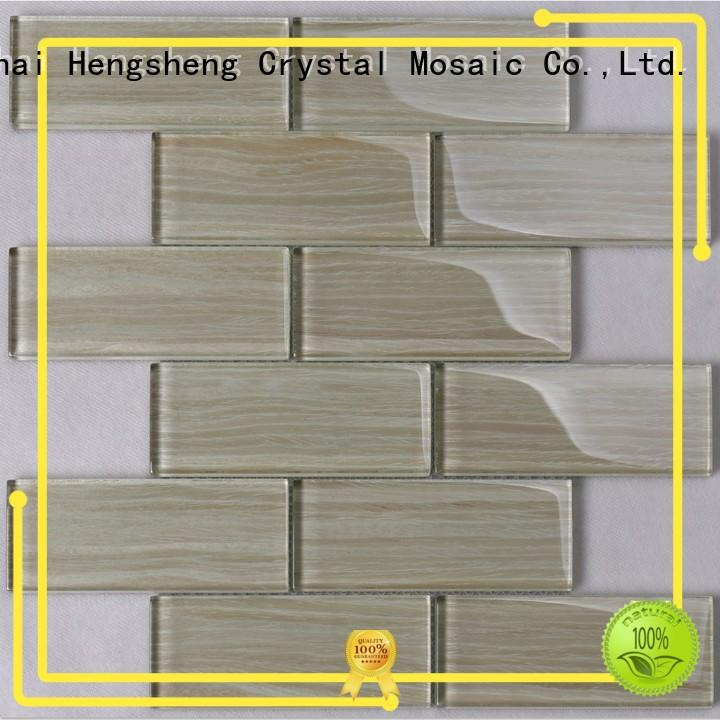 Heng Xing square hexagon wall tile rose for bathroom