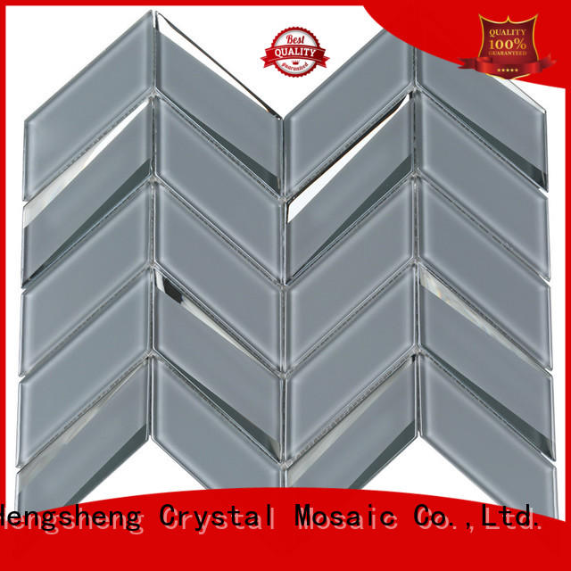 3x3 grey mosaic tiles iridescent Suppliers for bathroom