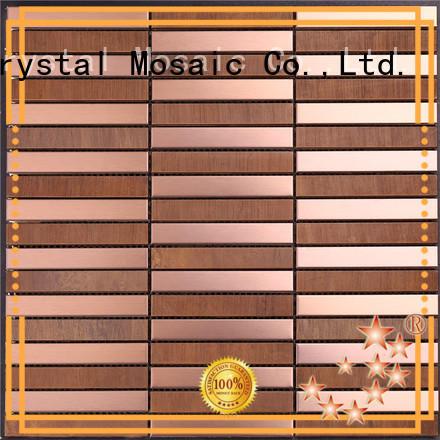 Heng Xing luxury travertine mosaic tiles manufacturers for kitchen