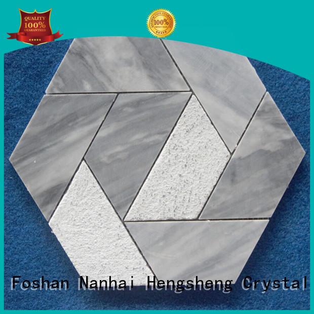 Heng Xing lantern mosaic floor tiles factory for bathroom